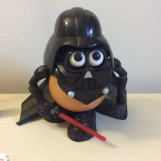 Darth Tater. My most treasured possession. *Cough* I mean, no, my wedding photos are obviously my most treasured possession. I'm not weird.