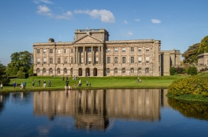 Lyme Park, the exterior location of Pemberley in the 1995 Pride and Prejudice.